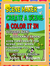 Scene Maker Coloring Ebook